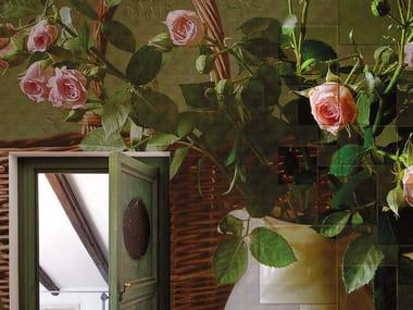 Carta da parati panoramica con motivi floreali NOBLESSE OBLIGE