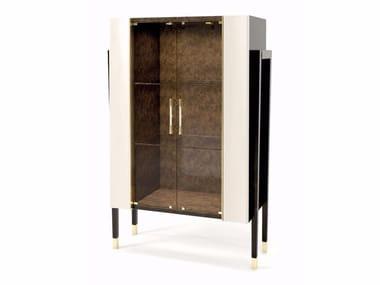 Crystal bar cabinet NOIR   Bar cabinet