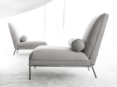 Fabric easy chair NOMADE