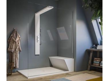 Glass Walk in shower NONSOLODOCCIA SHOWER