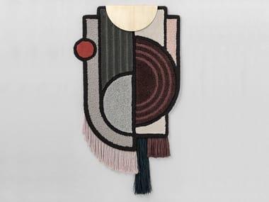 Long pile handmade wool rug NORTH POLE | Rug