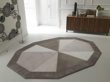 Handmade fabric rug NOTTING HILL