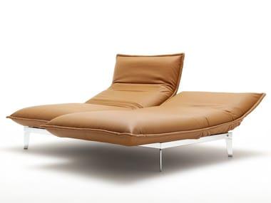 Leather lounge chair NOVA   Leather lounge chair