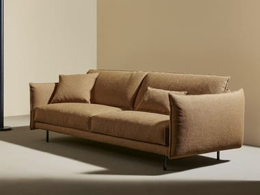 3 seater fabric sofa with headrest NUBES   3 seater sofa