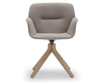 Swivel chair with armrests NUEZ SO2774