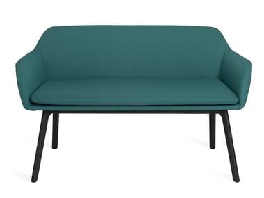 Sofá 2 plazas de tela NUR | Sofá de tela