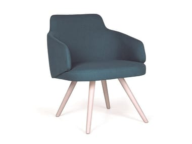 Easy chair with armrests NUZZLE EST MASS
