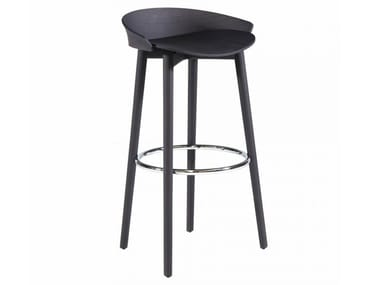 High stool with footrest NIX 239P