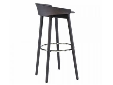 High stool with integrated cushion NIX 239P