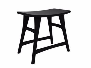 Oak stool OAK BLACKSTONE OSSO | Stool