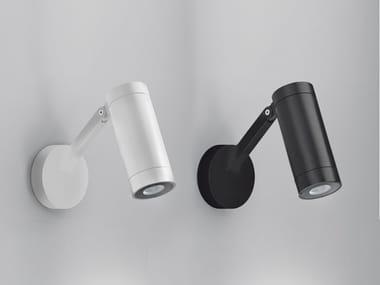 Lampada da parete per esterno a LED a luce diretta in alluminio OBICE