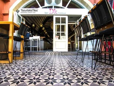 Handmade cement tiles ODYSSEAS 218