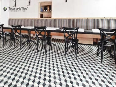 Handmade cement tiles ODYSSEAS 223