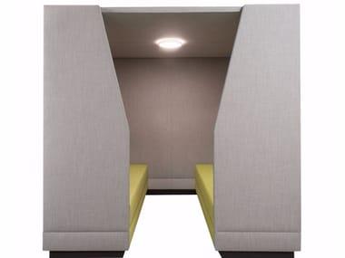 Büro Pod für Besprechungen BRICKS WALL PAVILION