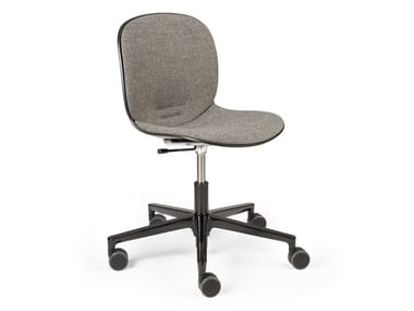Height-adjustable office chair with castors RBM NOOR   Office chair
