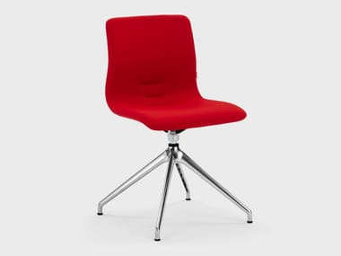 Swivel trestle-based fabric office chair QUEEN FABRIC   Swivel office chair