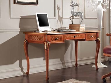 Rectangular workstation desk with drawers RUBIN | Office desk
