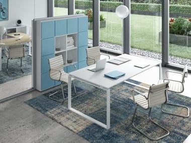 Rectangular office desk RING | Office desk