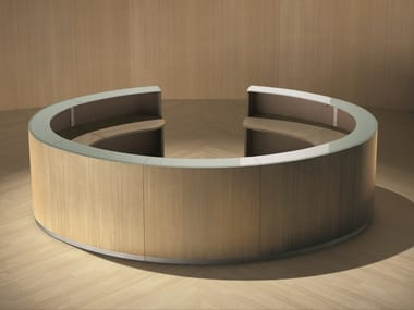 Modular Office reception desk BENGENTILE | Office reception desk