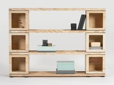Modular office shelving PIXEL | Office shelving