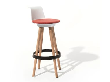 Office stool TIMBA | High stool