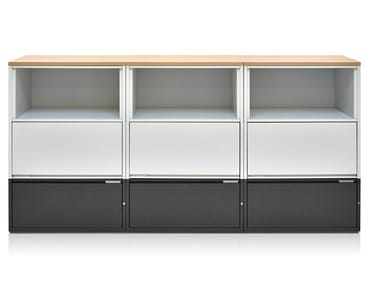 Modular office storage unit MERIDIAN | Office storage unit