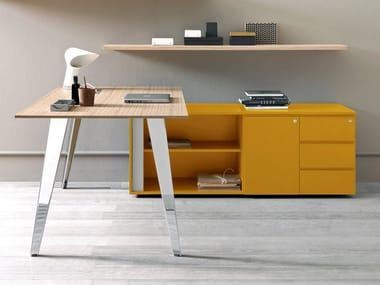 Lacquered Office Storage Unit Office Storage Unit