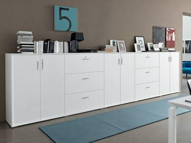 Office storage unit / office drawer unit GALAXY BATTENTE | Office storage unit