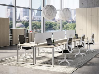 Multiple office workstation RING | Office workstation