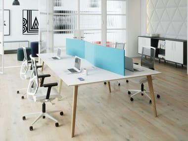 Multiple office workstation TUNDRA | Office workstation