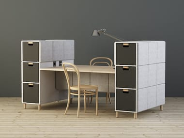 Multiple office workstation SABINE | Office workstation