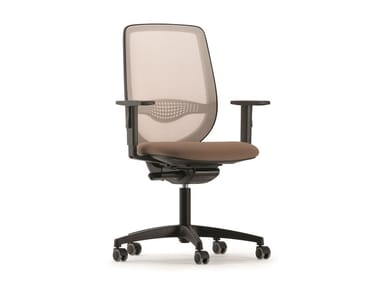 Swivel mesh task chair OKAY | Mesh task chair