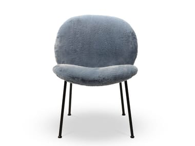 Fabric easy chair with removable cover OLA | Easy chair