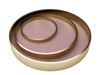 Round steel tray OLA | Tray
