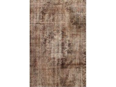 Handmade rug OLD BROWN
