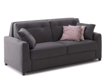 Fabric sofa bed with removable cover OLIVER