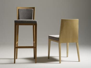 High stool with footrest OLLA   Stool