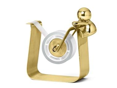 Brass scotch holder OMINI - TAPE MATE