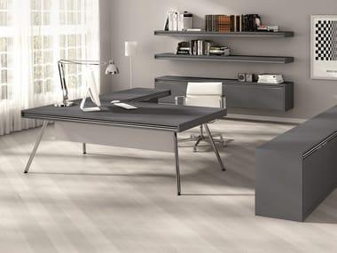 L-shaped executive desk ON | L-shaped office desk