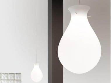 LED polyethylene pendant lamp ONA 6194