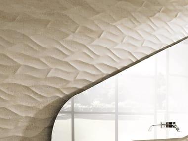 Revêtement mural 3D effet pierre ONA BEIGE