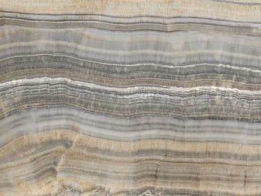 Pavimento/rivestimento in ceramica tecnica effetto marmo per interni ed esterni ONICE GRIGIO