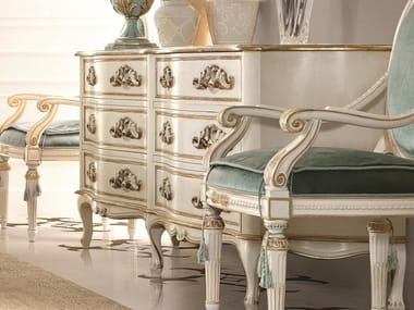 Lacquered chest of drawers OPERA | Lacquered chest of drawers