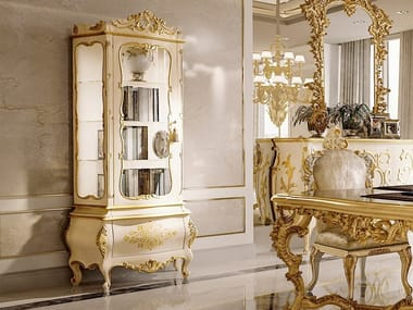 Gold leaf display cabinet OPERA | Display cabinet
