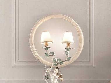 Round framed mirror OPERA | Round mirror