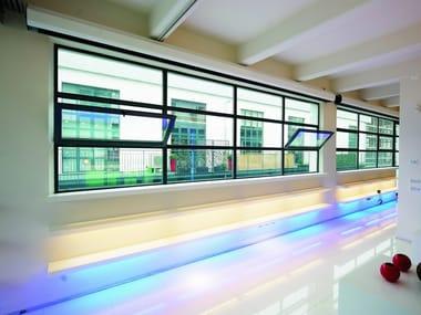 Steel thermal break window OPIFICIUM® | Bottom-hung window
