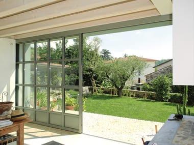 Steel thermal break window OPIFICIUM® | Sliding window