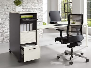 Office drawer unit with casters ORGA·PLUS   Office drawer unit with casters