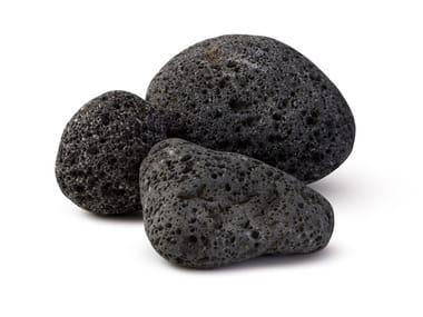 Lava stone decorative pebbles ORIENTAL | Lava stone decorative pebbles