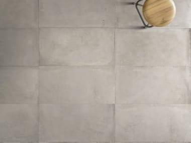 Pavimento in gres porcellanato effetto cemento ORIGINI G